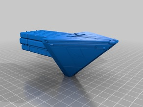 Imperial class IV Cargo Ship Star Wars