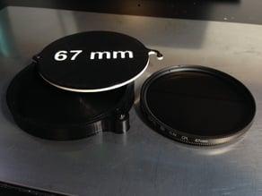 DSLR Lens Filter Case - 67 mm