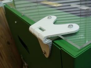 Craftbot upper door panel hinges