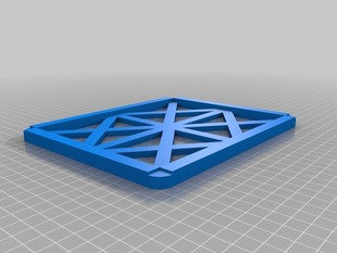 Stackable router/modem tray