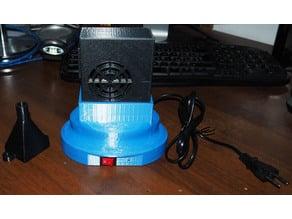 Welding fumes aspirator box