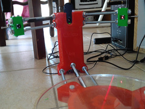 easy laser position setting / laser holder BQ Ciclop 3d scanner