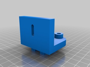 Separated Y axis belt parts for Y-axis rework for Anet A8