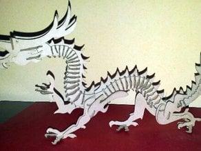 Dragon puzle 3D