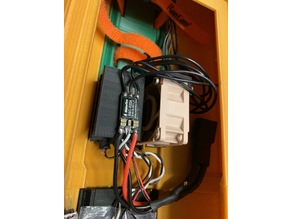 Super Simple RC 3D Printed Speed Boat Battery and Fan ESC Holder