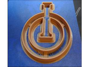 Cookie Cutter for Dinghi Class Optimist