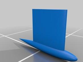 Parametric Keel / Foil (NACA)