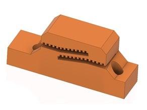 Bear Y belt adapter for MK2s/MK2.5 on Bear MK3 frame (tooth-mount for short belts)
