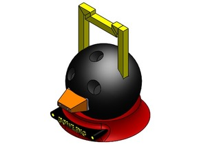 Bowling Ball Tape Dispenser