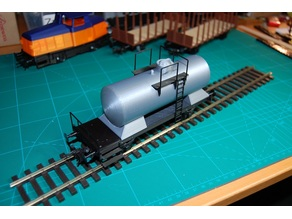 Basic 0-scale Project: Tank Wagon