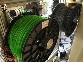 Filament Roll Secure Clip