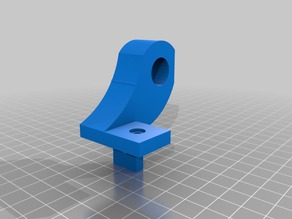 Bearing support for use with Inner Y rail mount