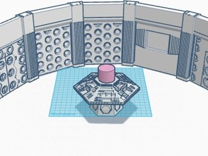 Doctor Who Classic 80s TARDIS Console Room
