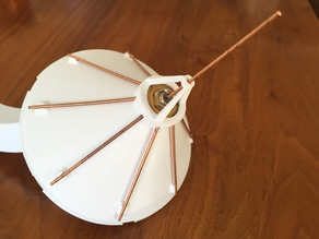 ADS-B Radome Ground Plane Antenna