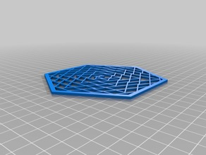 Spiral triangles 100hex object