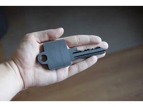 Most realistic oversized BKS profile cylinder Key