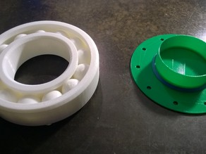 Simple Turntable for Large Bearing