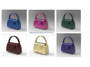 Ribon mini bag miniature toy