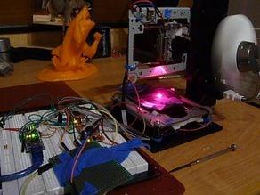 3DPILE - a 40$ DIY Laser Engraver
