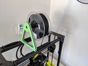 Lulzbot Taz 6 Top Mount Spool Holder
