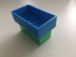 Lego duplo train - cargo top