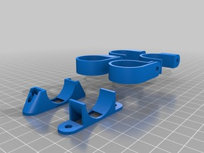 My Customized Parametric Cable or Pipe Clip