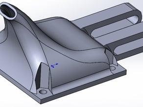 40mm fan duct