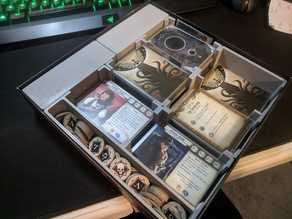 Arkham Horror LCG Card Tray (FFG sleeved)