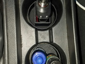 Vape and juice car cup holders