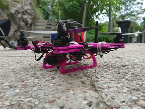 The Pioneer: a 250-Size FPV Quadcopter