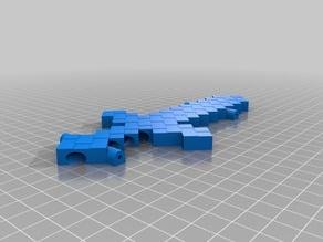 Pinewood Derby Minecraft Sword Car