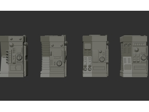 Type 7 Vending Machines. (Munitions, 4 Models)