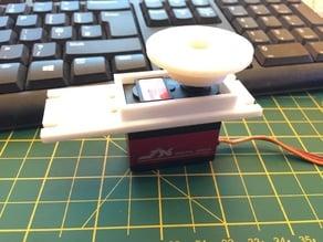 40x20x40 InMoov servo adapter for the PDI-6221-MG or DMS2000 MD servo