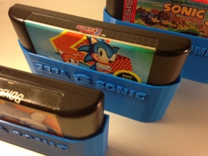 SEGA Sonic cartridge sleeves