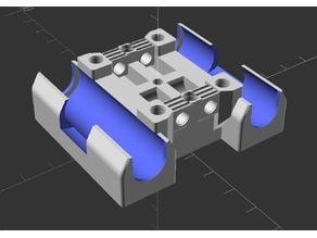 Hypercube Evolution X-carriage - 10mm x 16mm sleeve bearings