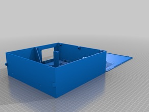 ZeBOX v1.4 - Storage box for generic 3d printer