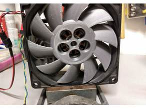 Parametric replacement fan blades for computer fans with airfoil wings