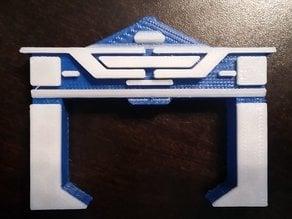 Tron Recongizer Dual Extruder Print