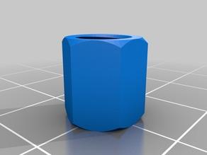 My Customized NUT JOB | 6mm diameter nut10mm height