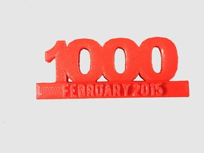1000 Subscribers on YouTube