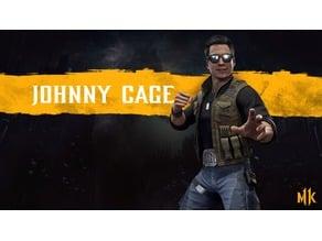 Mortal Kombat 11 Johnny Cage Belt Buckle 1&2