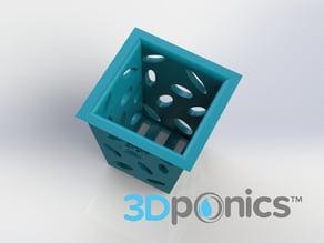 Planter (Square) - 3Dponics Non-Circulating Hydroponics