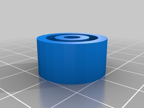 3d printable ball bearing with 5mm bore and 20mm outer diameter