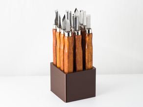 Tray for a Support Removal Chisel Set