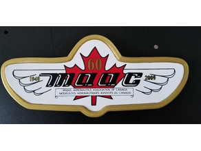 MAAC emblem frame