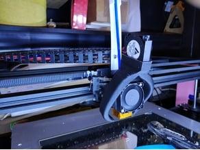 X5S FANG OEM fan duct assembly - easy & sturdy print
