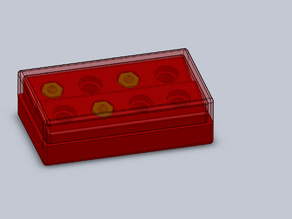 Nozzle Holder E3D 8x / Düsenhalter E3D 8x
