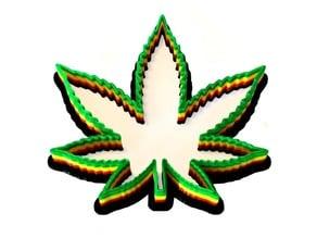 Cannabis Cookie Cutter - Marijuana Leaf