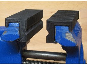 Soft Jaws for Irwin / Yost 3 inch Clamp On Vise