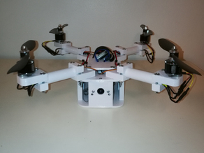 Foldable FPV Quad Copter - PBC350v1